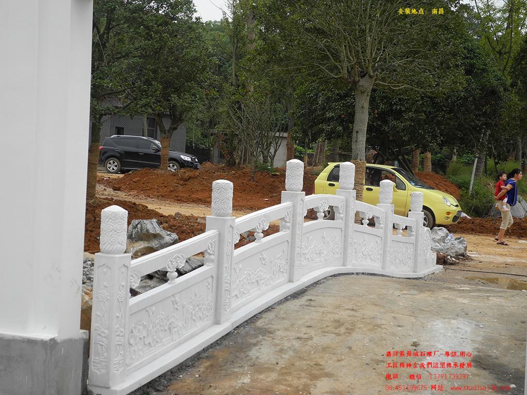 别墅石栏板