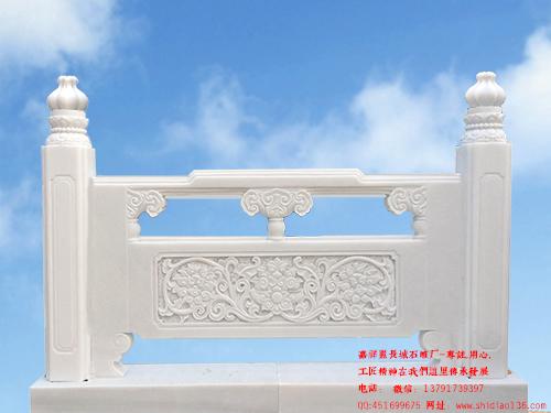 石栏杆效果图设计介绍-石栏杆展现什么样的雕刻风采