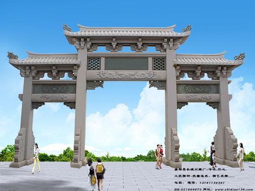 广东农村牌坊牌楼样式都有哪些