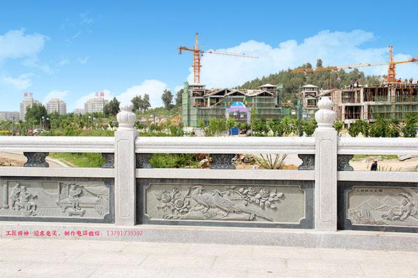 桥梁石雕杆栏