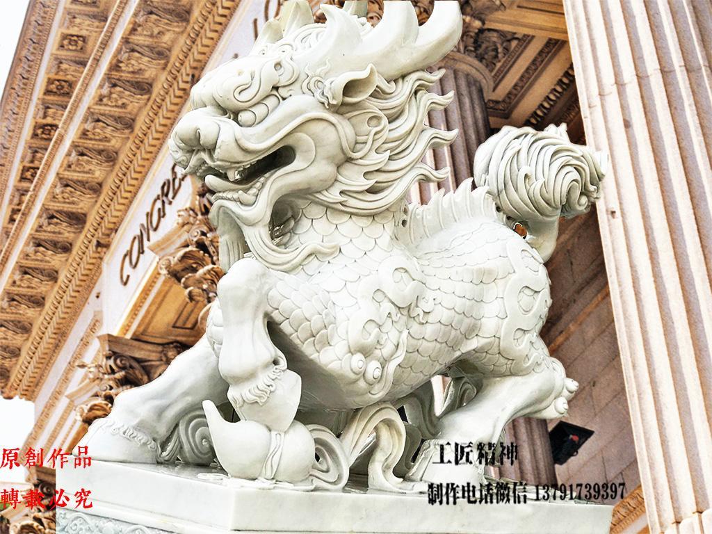 最好看的石雕麒麟雕刻图片
