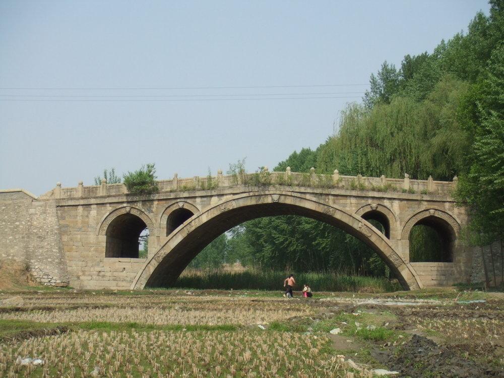 崞阳普济桥拱桥雕刻图片