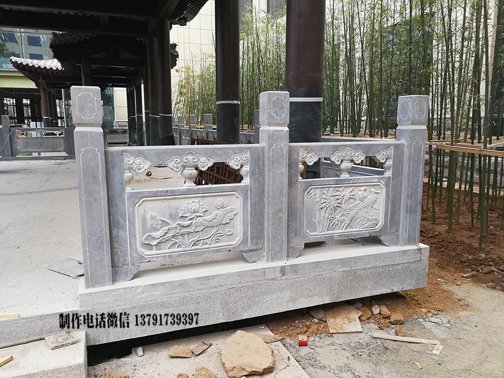 青石栏杆雕刻样式