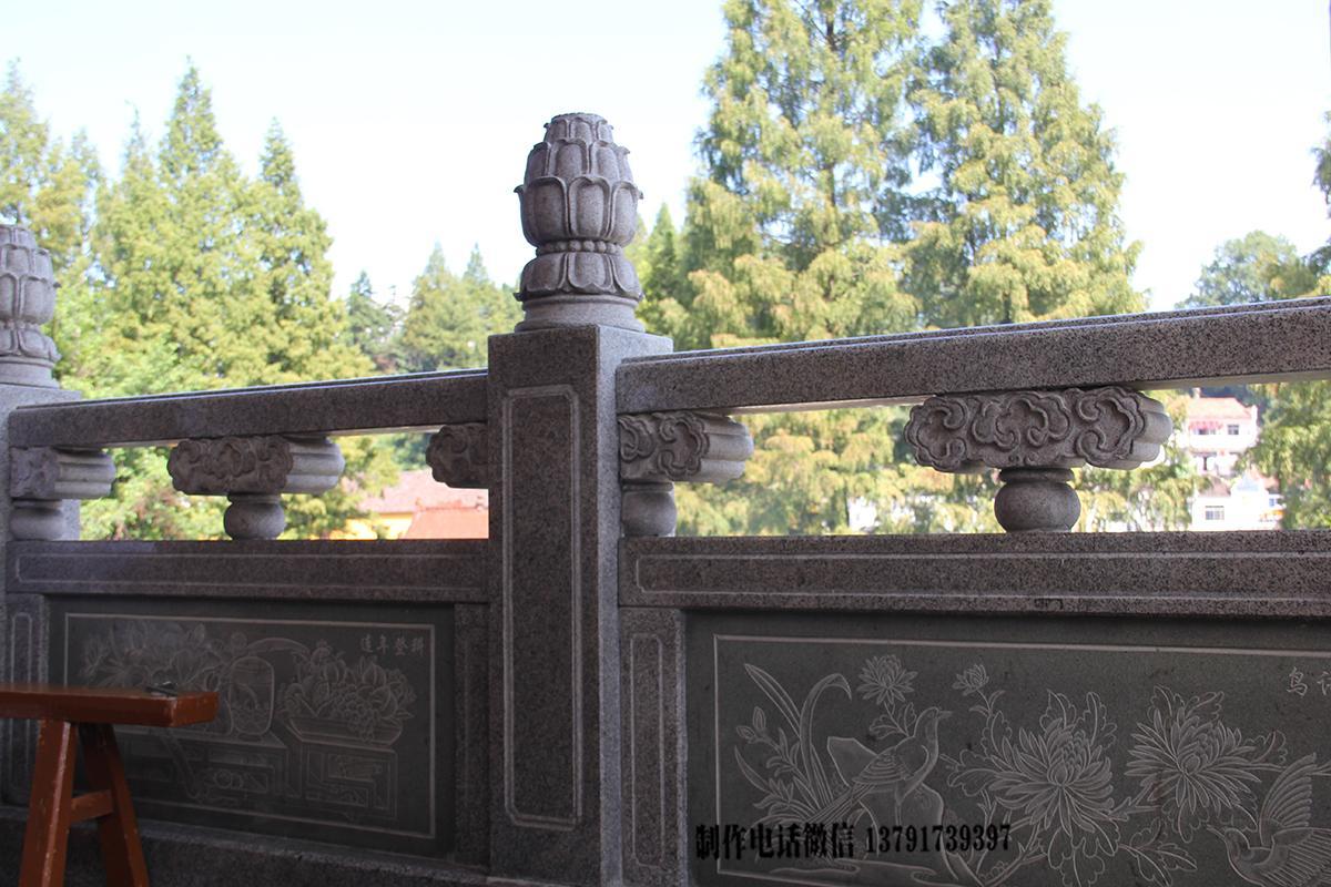 花岗岩石栏杆雕刻样式