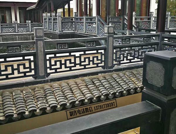 徽派古建筑中的青石栏杆多少钱一米