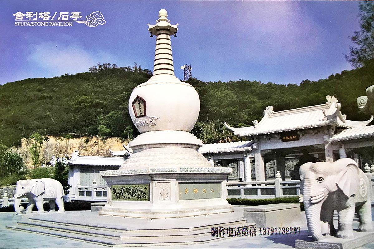 藏传石塔佛塔雕刻图片