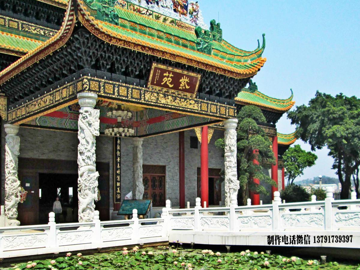 广州宝墨园经典栏杆图片