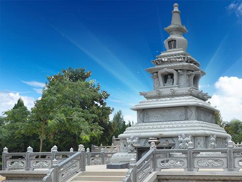 藏传佛塔建筑装饰图片样式