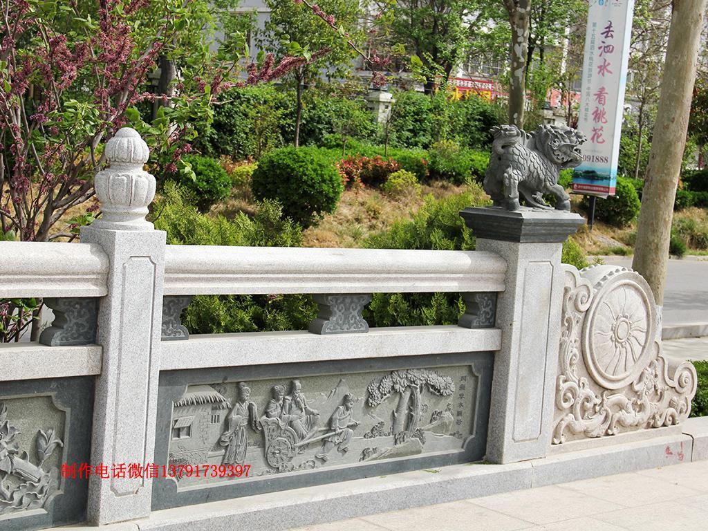 二十四孝景观护栏图片