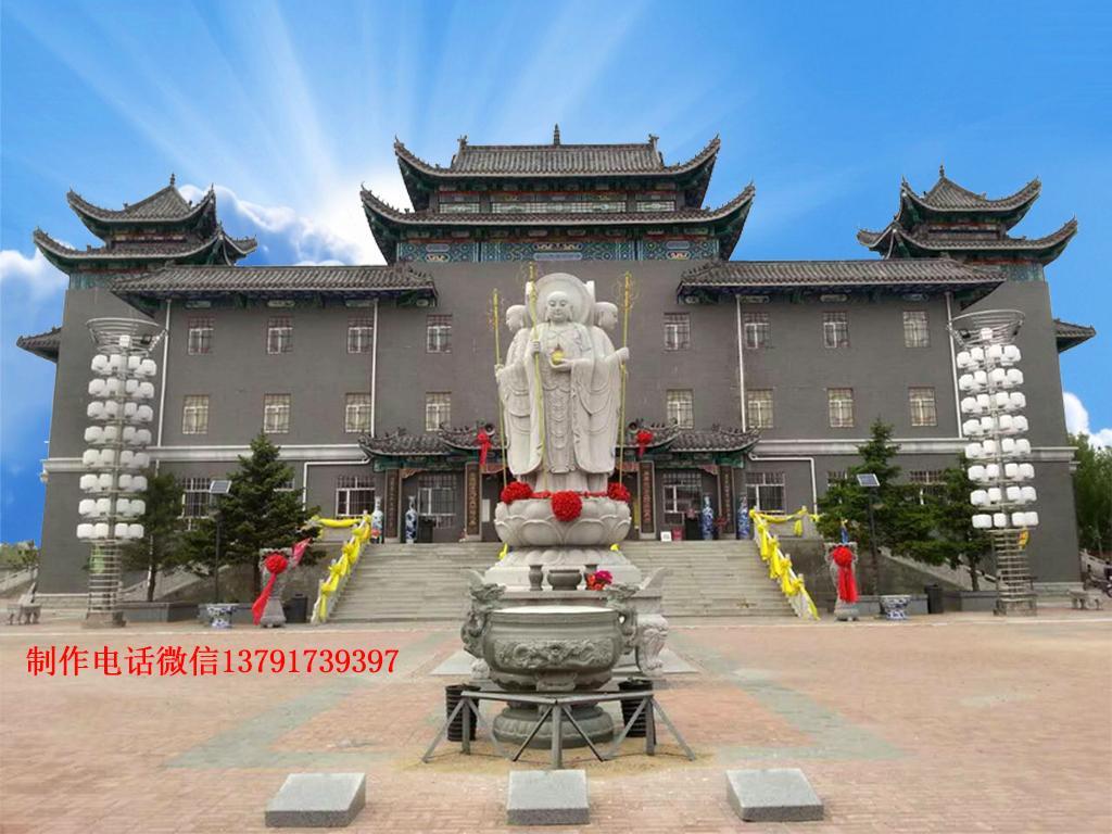 石雕地藏王菩萨雕像图片