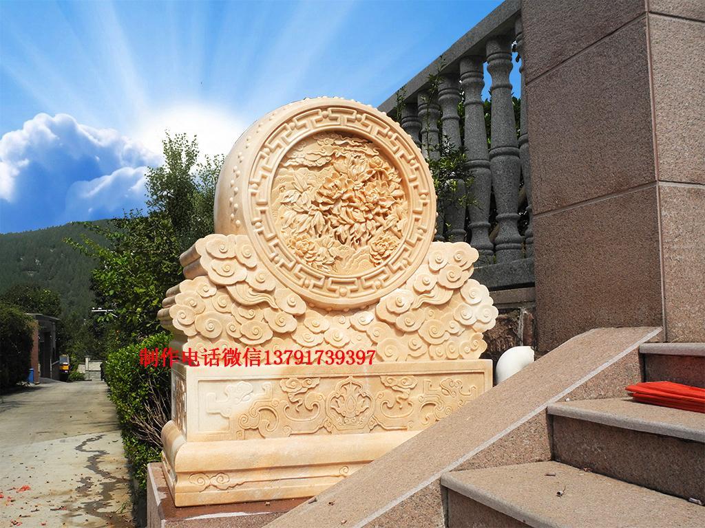 石门墩图片抱鼓石样式及文化