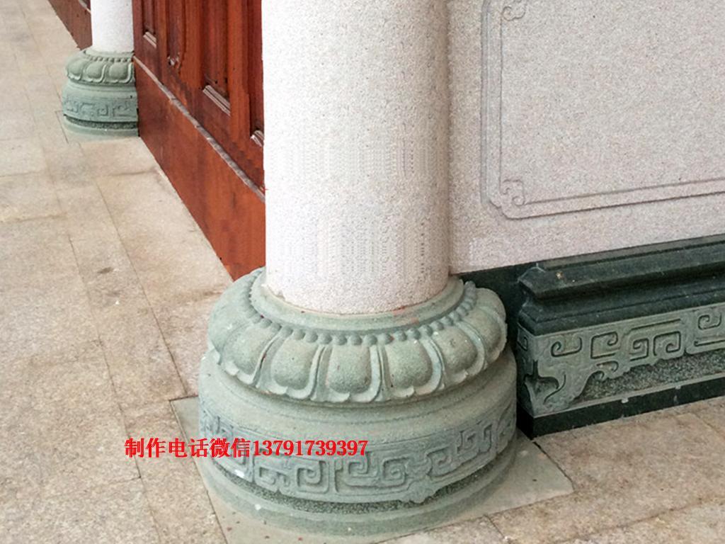 柱墩石图片柱顶石样式柱础石制作