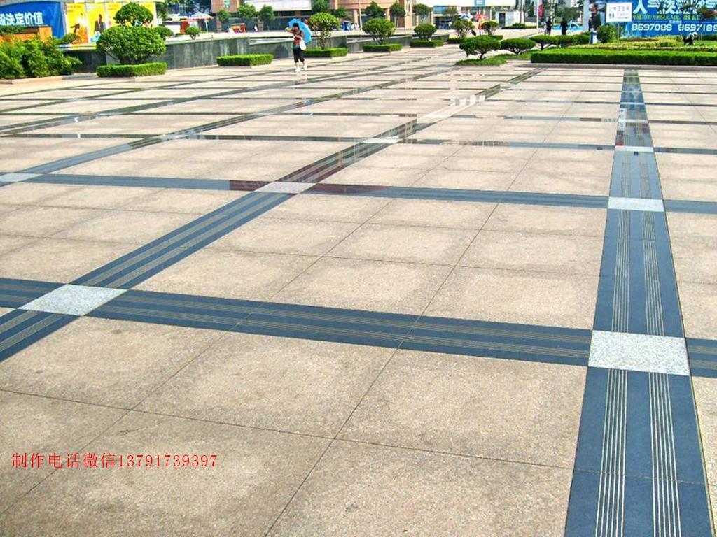 广场锈石铺装图片样式大全