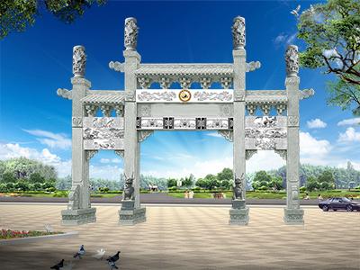 惠来县现代农村牌坊图片大全